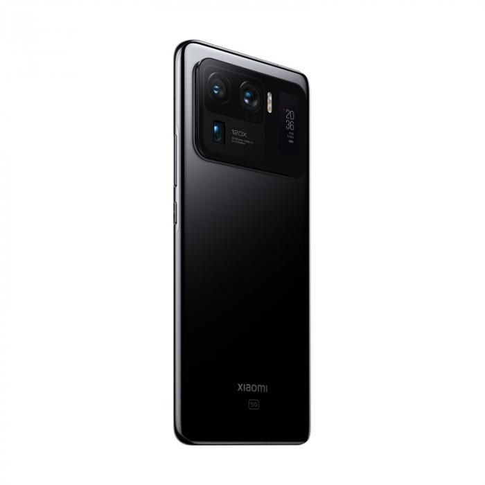 """Telefon mobil Xiaomi Mi 11 Ultra Negru, 5G, AMOLED curbat 6.81"""" WQHD+ 120Hz, Selfie display, 12GB RAM LPDDR5, 512GB ROM, Snapdragon 888 [3]"""