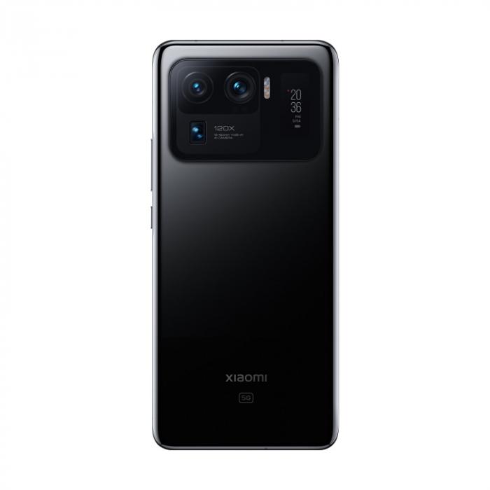 """Telefon mobil Xiaomi Mi 11 Ultra Negru, 5G, AMOLED curbat 6.81"""" WQHD+ 120Hz, Selfie display, 12GB RAM LPDDR5, 512GB ROM, Snapdragon 888 [2]"""