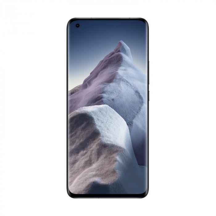 """Telefon mobil Xiaomi Mi 11 Ultra Negru, 5G, AMOLED curbat 6.81"""" WQHD+ 120Hz, Selfie display, 12GB RAM LPDDR5, 512GB ROM, Snapdragon 888 [1]"""