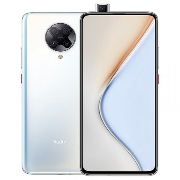 Telefon mobil Xiaomi Redmi K30 Pro, 5G, AMOLED 6.67inch, 6GB RAM, 128GB ROM, Android 10, Snapdragon865 OctaCore, Dual SIM, 4700mAh, Alb
