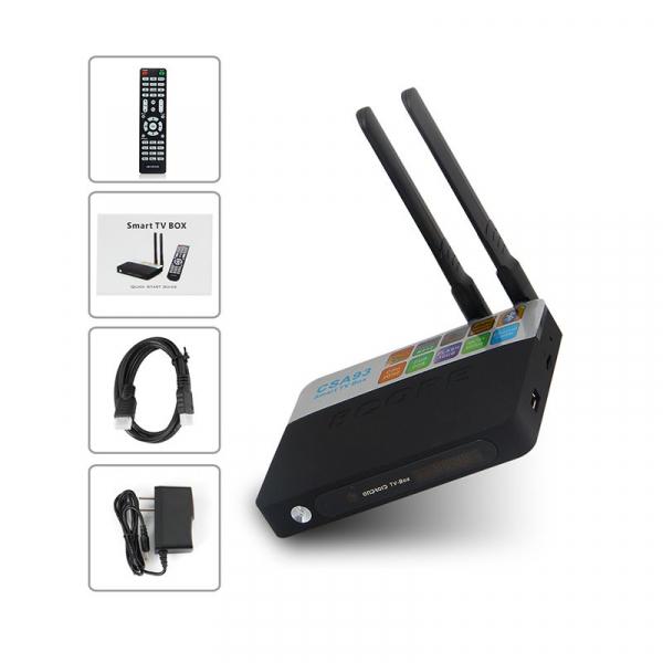TV BOX CSA93 4K, KODI, Amlogic S912 Octa Core 64 biti, 2GB RAM 16 GB ROM, Wireless dual band, Bluetooth, DLNA, Airplay, Miracast 5