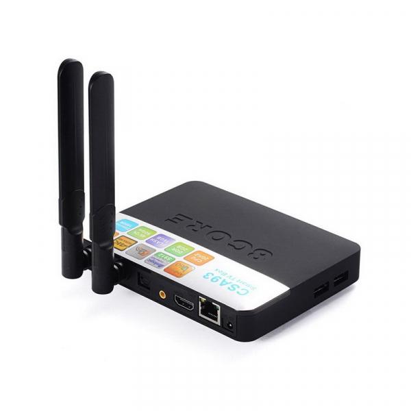 TV BOX CSA93 PRO 4K, KODI, Amlogic S912 Octa Core 64 biti, 3GB RAM 32 GB ROM, Wireless dual band, BT, DLNA, Airplay, Miracast 3