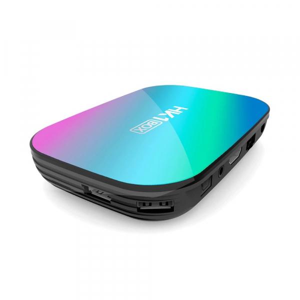 TV Box HK1 BOX Smart Media Player, 8K, RAM 4GB, ROM 32GB, Amlogic S905X3, Android 9.0, Slot Card, Quad Core 1