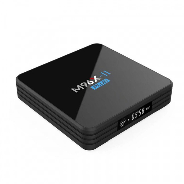 TV BOX M96X II Plus 4K, KODI 18, Amlogic S912, 2GB RAM 16GB ROM, Octa Core Cortex A53, Android 7.1, Wireless dual band 1