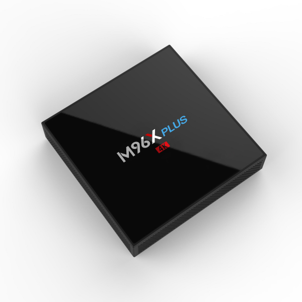 TV BOX M96X Plus 4K, KODI 18, Amlogic S912, 2GB RAM 16GB ROM, Octa Core Cortex A53, Android 7, Wireless dual band 9