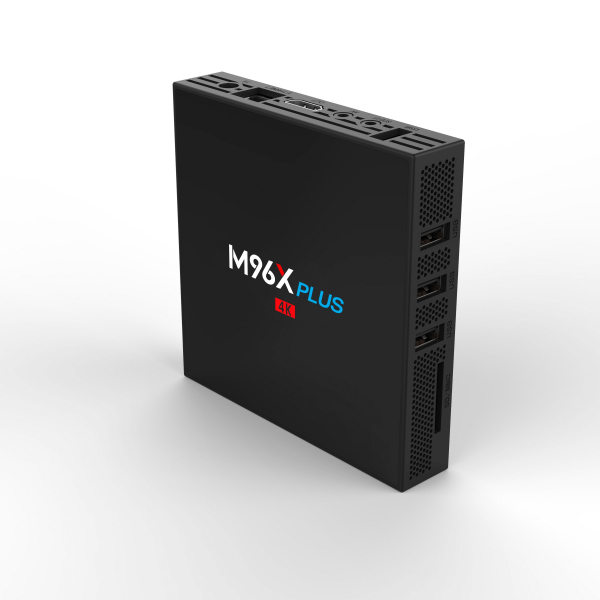 TV BOX M96X Plus 4K, KODI 18, Amlogic S912, 2GB RAM 16GB ROM, Octa Core Cortex A53, Android 7, Wireless dual band 12