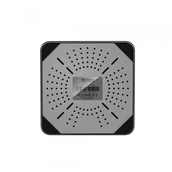 TV Box Mecool KM3 Smart Media Player, 4GB Ram, 128 GB ROM, Android 9.0, QuadCore, Control vocal 6