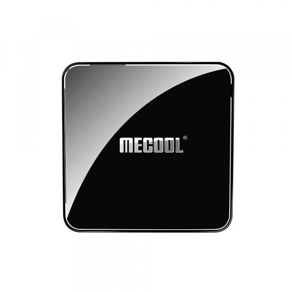 TV Box Mecool KM3 Smart Media Player, 4GB Ram, 128 GB ROM, Android 9.0, QuadCore, Control vocal 5