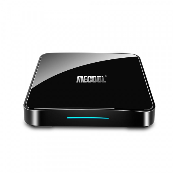TV Box Mecool KM3 Smart Media Player, 4GB Ram, 64 GB ROM, Android 9.0, QuadCore, Control vocal imagine