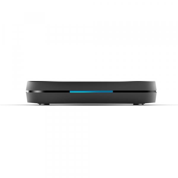 TV Box Mecool KM9 Pro Smart Media Player, 4GB Ram, 32 GB ROM, Android 9.0, QuadCore, Control vocal 9