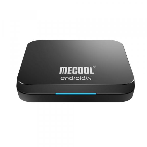 TV Box Mecool KM9 Pro Smart Media Player, 4GB Ram, 32 GB ROM, Android 9.0, QuadCore, Control vocal 0