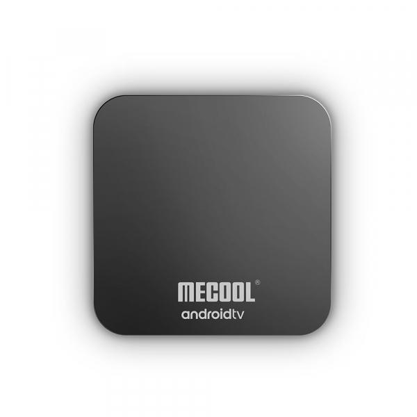 TV Box Mecool KM9 Pro Smart Media Player, 4GB Ram, 32 GB ROM, Android 9.0, QuadCore, Control vocal 7