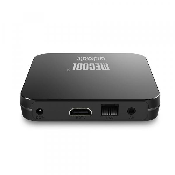 TV Box Mecool KM9 Pro Smart Media Player, 4GB Ram, 32 GB ROM, Android 9.0, QuadCore, Control vocal 1