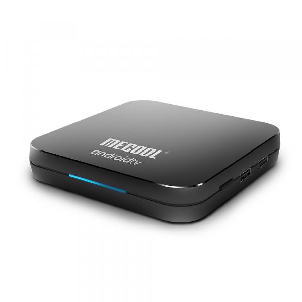 TV Box Mecool KM9 Pro Smart Media Player, 4GB Ram, 32 GB ROM, Android 9.0, QuadCore, Control vocal 5