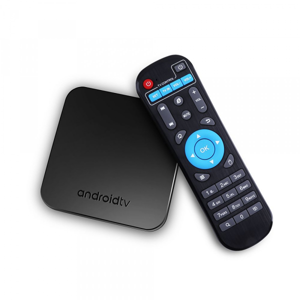 TV Box Mecool KM9 Smart Media Player, 4GB Ram, 32 GB ROM, Android 9.0, QuadCoreAmlogic S905X2 2