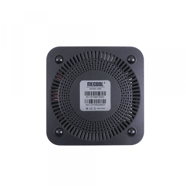 TV Box Mecool KM9 Smart Media Player, 4GB Ram, 32 GB ROM, Android 9.0, QuadCoreAmlogic S905X2 4