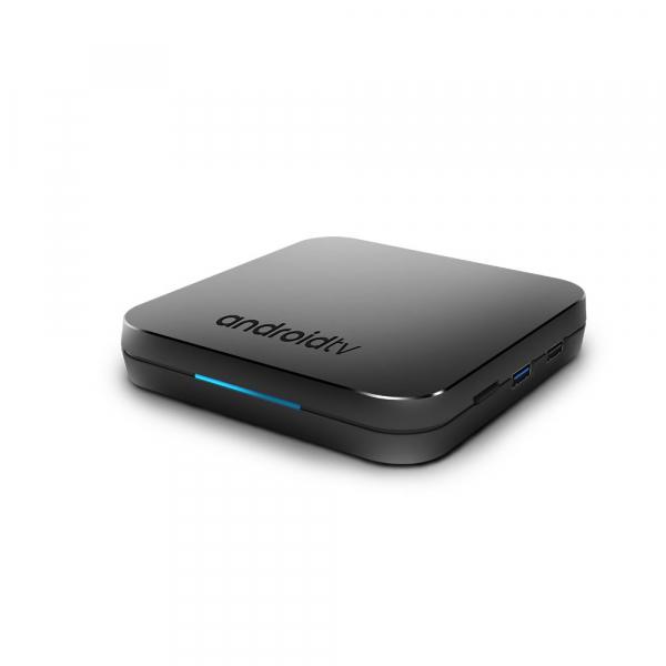TV Box Mecool KM9 Smart Media Player, 4GB Ram, 32 GB ROM, Android 9.0, QuadCoreAmlogic S905X2 9