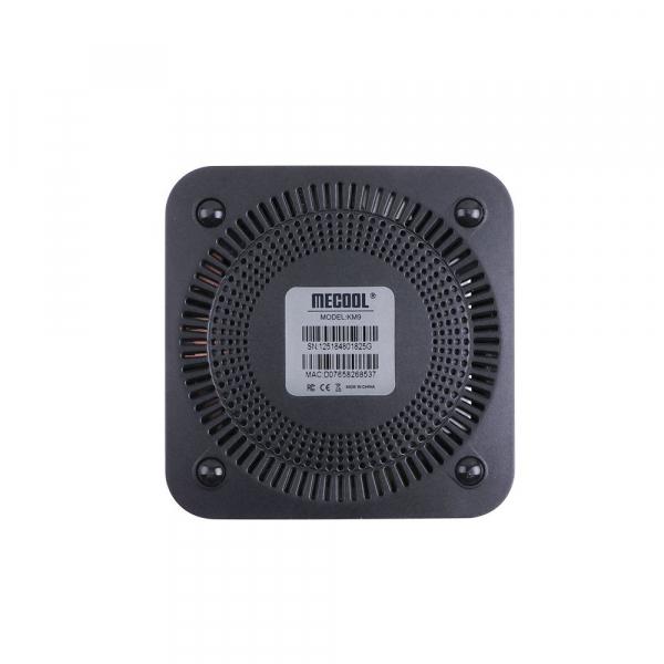 TV Box Mecool KM9 Smart Media Player, 4GB Ram, 64 GB ROM, Android 9.0, QuadCoreAmlogic S905X2 4