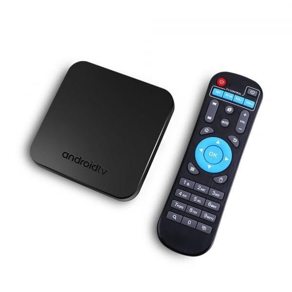 TV Box Mecool KM9 Smart Media Player, 4GB Ram, 64 GB ROM, Android 9.0, QuadCoreAmlogic S905X2 1