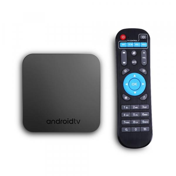 TV Box Mecool KM9 Smart Media Player, 4GB Ram, 64 GB ROM, Android 9.0, QuadCoreAmlogic S905X2 3