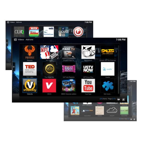 Tv Box MXR Pro 4K RK3328 Quad-Core, KODI, 4GB RAM, 32GB ROM, Android 7.1 5