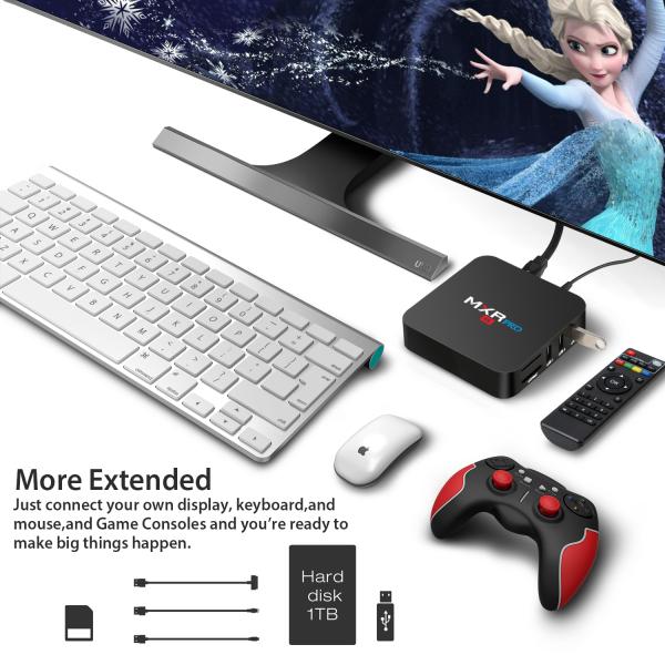 Tv Box MXR Pro 4K RK3328 Quad-Core, KODI, 4GB RAM, 32GB ROM, Android 7.1 6
