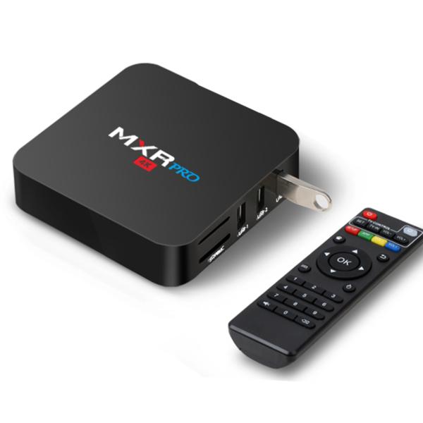 Tv Box MXR Pro 4K RK3328 Quad-Core, KODI, 4GB RAM, 32GB ROM, Android 7.1 3