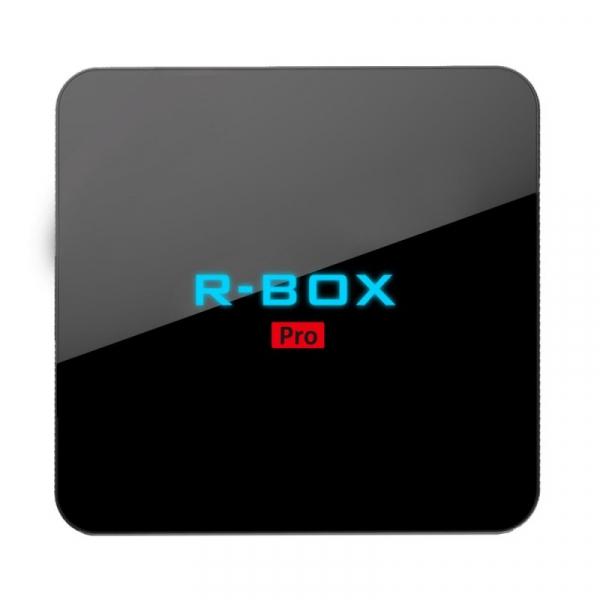 Tv Box R-BOX Pro 4K Amlogic S912,KODI, 3GB RAM, 32GB ROM, Android 7.1 2