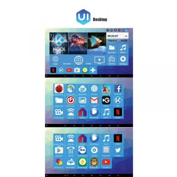 Tv Box R-BOX Pro 4K Amlogic S912, KODI, DDR4 3GB RAM, 32GB ROM, Android 7.1 5