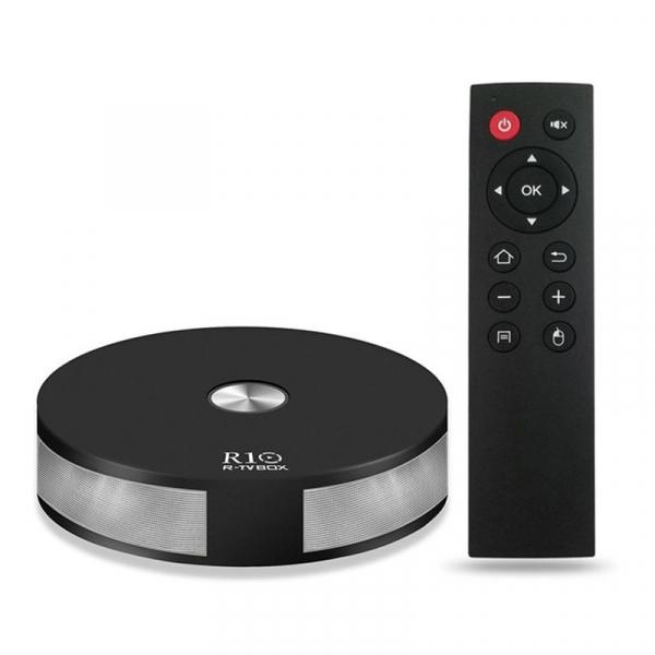 TV BOX R10 4K, Kodi 17.4, Bluetooth, RK3328 Quad Core, Android 7.1.2, 4GB RAM 64GB ROM, Wifi dual band, 3D Video, Slot Card, HDR 1