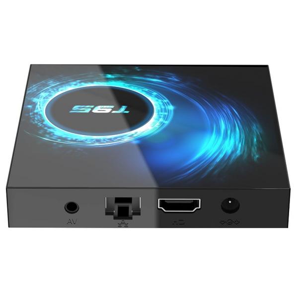 TV Box T95, 6K, Android 10.0, 4GB RAM, 128GB ROM, H616 Quad Core, Mali-G31, HDR 10, Kodi 18.1, WiFi Dual Band, Slot card 1