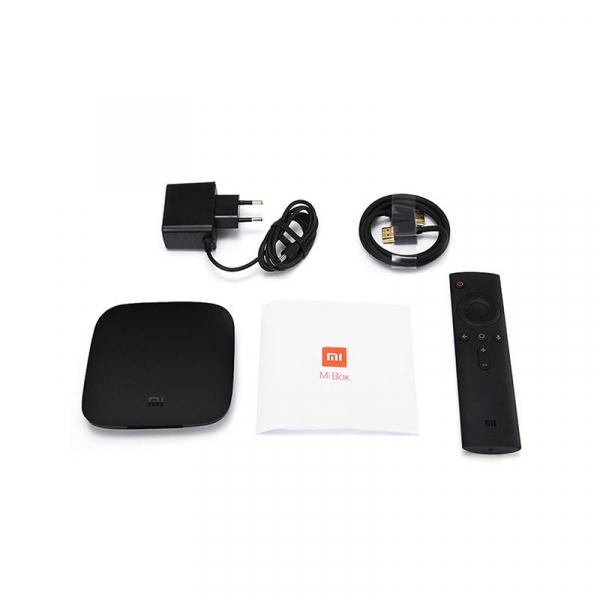 TV Box Xiaomi Mi Box 3S 4K , Kodi, Bluetooth, Android 6.0, Dolby Audio, Amlogic S905X Quad Core, 2GB RAM 8GB ROM, Wifi dual band 7