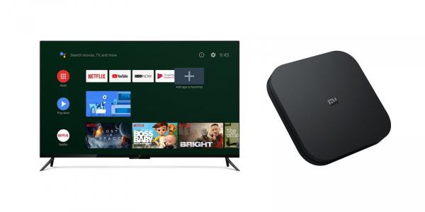 TV Box Xiaomi Mi Box S 4K  global , 2GB RAM 8GB ROM, Cortex A53 Quad Core, Telecomanda cu microfon, USB, HDMI, Wireless 2