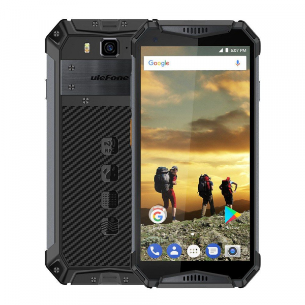 Telefon mobil Ulefone Armor 3 Waterproof Android 8.1 OctaCore FHD 4GB RAM 64GB ROM NFC 0