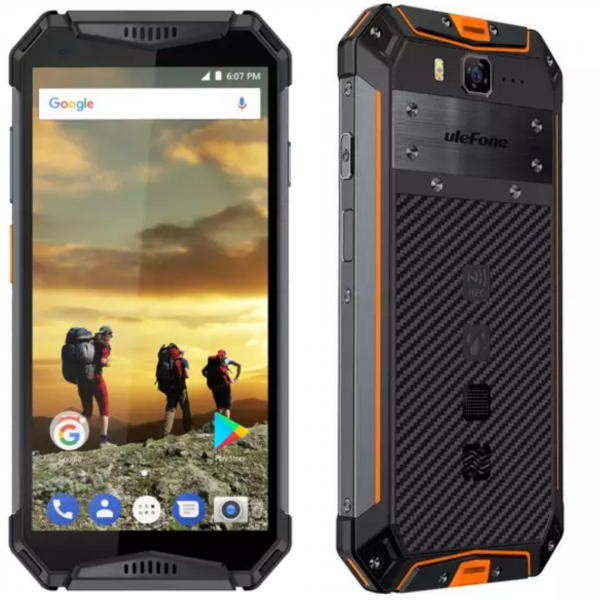 Telefon mobil Ulefone Armor 3 Waterproof Android 8.1 OctaCore FHD 4GB RAM 64GB ROM NFC 3