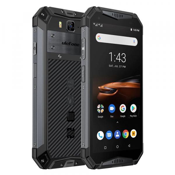 """Telefon mobil Ulefone Armor 3W, IPS 5.7"""", Android 9, 6GB RAM, 64GB ROM, MediaTek Helio P70, ARM Mali-G72 MP3, Octa-Core, Dual-SIM, 10300mAh 2"""