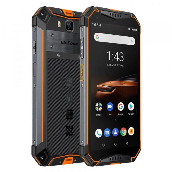 """Telefon mobil Ulefone Armor 3W, IPS 5.7"""", Android 9, 6GB RAM, 64GB ROM, MediaTek Helio P70, ARM Mali-G72 MP3, Octa-Core, Dual-SIM, 10300mAh 7"""