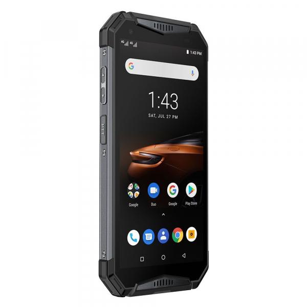 """Telefon mobil Ulefone Armor 3W, IPS 5.7"""", Android 9, 6GB RAM, 64GB ROM, MediaTek Helio P70, ARM Mali-G72 MP3, Octa-Core, Dual-SIM, 10300mAh 3"""