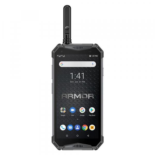 """Telefon mobil Ulefone Armor 3WT, IPS 5.7"""", Android 9, 6GB RAM, 64GB ROM, MediaTek Helio P70, Octa-Core, Walkie-Talkie, Dual-SIM, 10300mAh 3"""