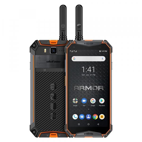 """Telefon mobil Ulefone Armor 3WT, IPS 5.7"""", Android 9, 6GB RAM, 64GB ROM, MediaTek Helio P70, Octa-Core, Walkie-Talkie, Dual-SIM, 10300mAh 5"""