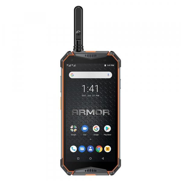 """Telefon mobil Ulefone Armor 3WT, IPS 5.7"""", Android 9, 6GB RAM, 64GB ROM, MediaTek Helio P70, Octa-Core, Walkie-Talkie, Dual-SIM, 10300mAh 7"""