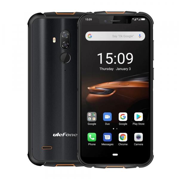 Telefon mobil Ulefone Armor 5S,IPS5.85inch, 4GB RAM, 64GB ROM, Android 9.0, MediaTek Helio P23, ARM Mali-G71 MP2,Octa Core, 5000mAh 0
