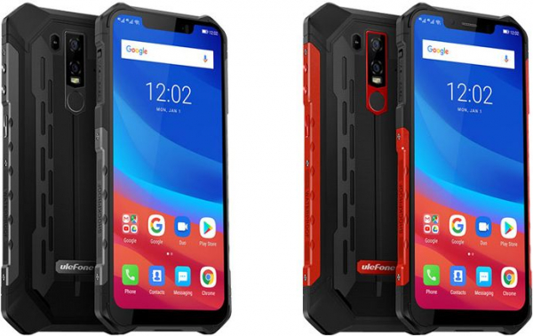 Telefon mobil Ulefone Armor 6, IPS 6.2inch, 6GB RAM, 128GB ROM, MediaTek Helio-P60, OctaCore, Android 8.1, NFC, 5000 mAh 0