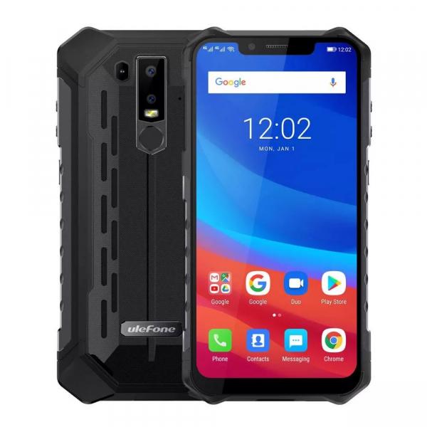 Telefon mobil Ulefone Armor 6, IPS 6.2inch, 6GB RAM, 128GB ROM, MediaTek Helio-P60, OctaCore, Android 8.1, NFC, 5000 mAh 6