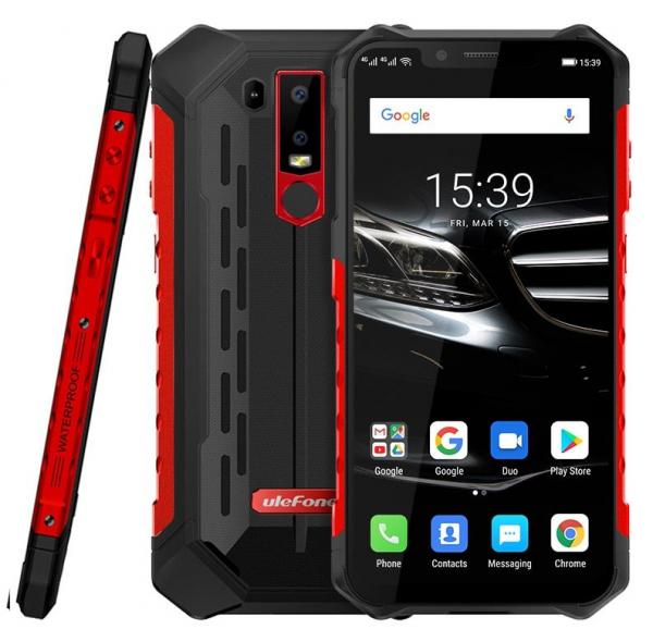Telefon mobil Ulefone Armor 6E, 6.2inch, 4GB RAM, 64GB ROM, Helio P70 OctaCore, Android 9.0, Dual SIM, Incarcare Wireless 3
