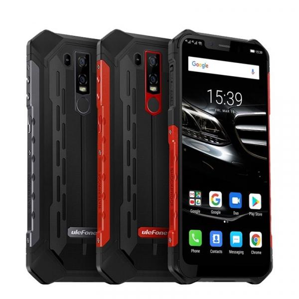 Telefon mobil Ulefone Armor 6E, 6.2inch, 4GB RAM, 64GB ROM, Helio P70 OctaCore, Android 9.0, Dual SIM, Incarcare Wireless 0