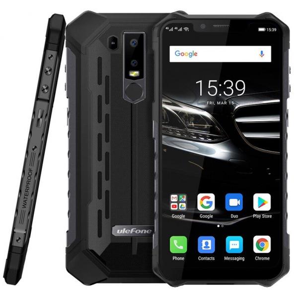 Telefon mobil Ulefone Armor 6E, 6.2inch, 4GB RAM, 64GB ROM, Helio P70 OctaCore, Android 9.0, Dual SIM, Incarcare Wireless 1