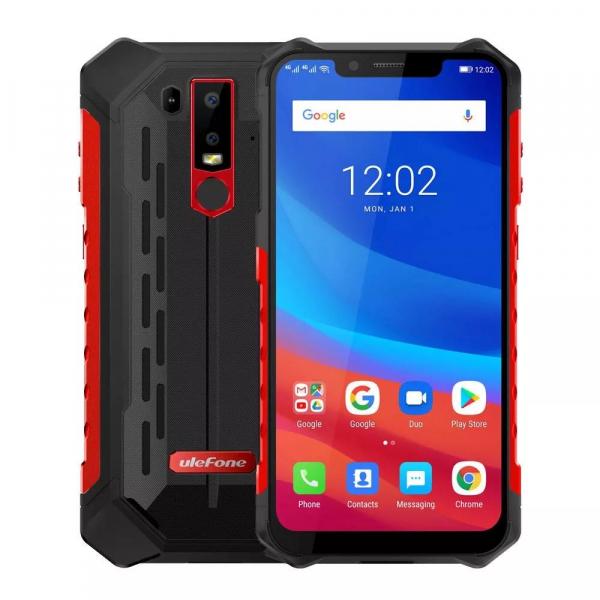 Telefon mobil Ulefone Armor 6S, 6.2 inch, MediaTek Helio-P70, Octa-Core, Android 9.0, 6GB RAM, 128GB ROM, NFC, 5000 mAh imagine