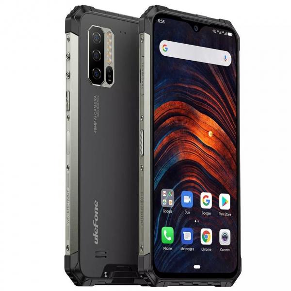 Telefon mobil Ulefone Armor 7,IPS6.3inch, 8GB RAM, 128GB ROM, Android 9.0,Helio P90 OctaCore, Incarcare wireless, 5500mAh, Dual Sim 3