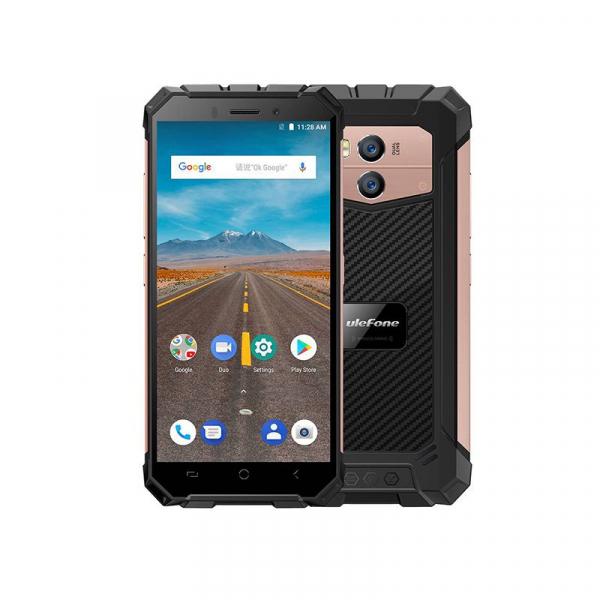 Telefon mobil Ulefone Armor X 4G, Waterproof IP68, 2GB RAM 16GB ROM, Quad Core, 5.5 inch, Amprenta, Android 8.1, Camera dubla, DualSim 5